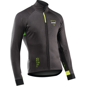 Northwave Blade 3 Jacket Total Protection Men, dark grey/yellow fluo